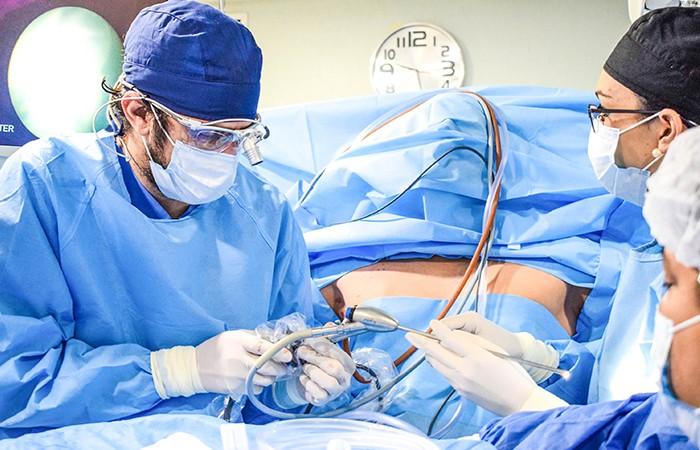 Cirugía Mini ETS Simpatectomía